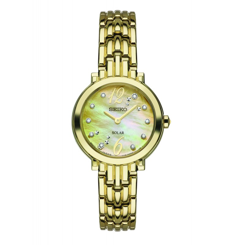 Ladies Yellow Gold Watch / Stainless