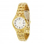 Citizen Eco-Drive Women's Yellow-Plated Watch