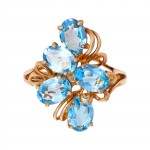 10K Yellow Blue Topaz