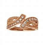 Le Vian 14k Strawberry Gold .440 Ctw Diamond Ring