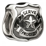 Sterling Silver - Serve & Protect