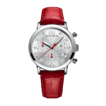 Rue du Rhone Ladies Chronograph Red Watch