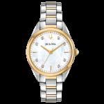 Bulova Women's Classic Sutton Two-Tone Watch