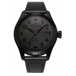 Gents Black Watch / Stainless