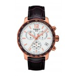 Tissot Men's Quickster Chronograph Rose-Tone Watch