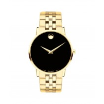 Movado Museum Classic Men's Yellow Gold PVD Watch