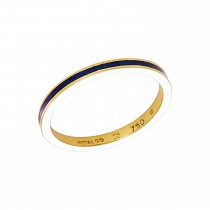 Ladies Round Cut Yellow Gold Ring / 18 Kt Y