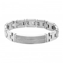 Inox Men's Stainless Steel Bracelet