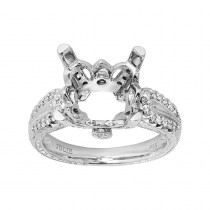 .320 Ct. / .320 Ctw Round Cut Miscellaneous Engagement Ring
