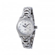 Pre-Owned Tag Heuer Link Ladies Watch with Diamond Accents