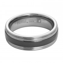 Men's Benchmark Forge 7mm Tungsten Ring