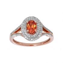 .350 Ctw Ruby Ring / 14 Kt W