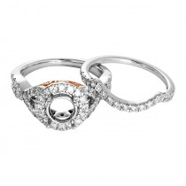 1.25tw Diamond Semi-Mount Wedding Set