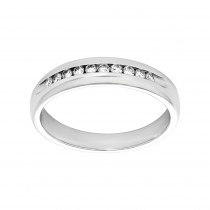 Gents .200 Ctw Round Cut Diamond Anniversary Band / 14 Kt Y