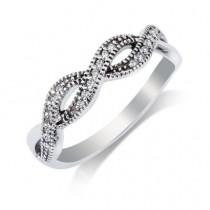 Ladies .250 Ctw Diamond Ring / 14 Kt W