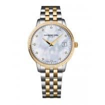 Raymond Weil Ladies Toccata Two-Tone Diamond Watch