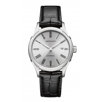 Hamilton Gents Valiant Automatic Black Leather