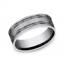 Gents Titanium Wedding Band