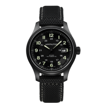 Hamilton Men's Khaki Field Titanium Automatic Watch