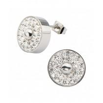 Inox Crystal Earrings