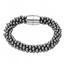 Kit Heath Grey Bead Bracelet