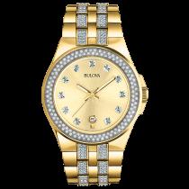 Bulova Men's Yellow-Tone Watch