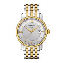 Tissot Men's Bridgeport Two-Tone Watch