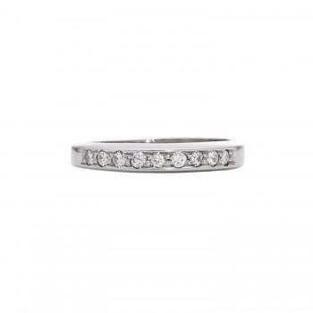 Ladies .260 Ctw Round Cut Diamond Ring / Platinum
