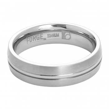 Men's Benchmark Forge Titanium Band