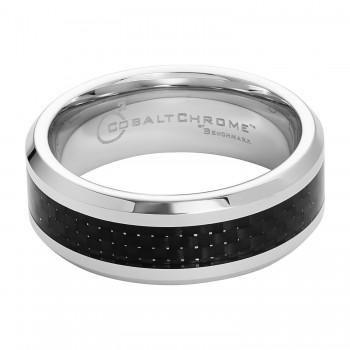 Benchmark Cobalt Chrome & Carbon Fiber Ring