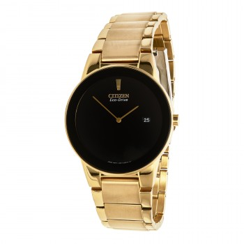 Citizen Eco-Drive Men's Yellow-Plated Watch