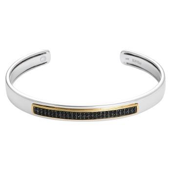 EFFY Men's Sapphire Bracelet / Silver & 18kt