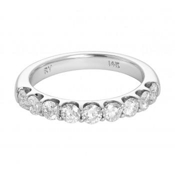 Ladies 1.000 Ctw Diamond Ring / 14 Kt W