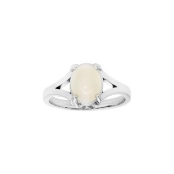 Ladies Opal Ring / 10 Kt W