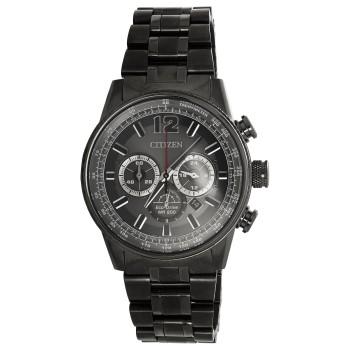 Citizen Eco-Drive Slate-Tone Watch