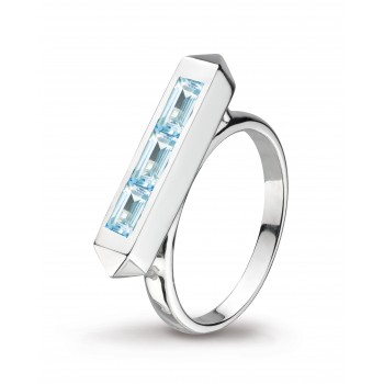 Kit Heath Blue Topaz Ring