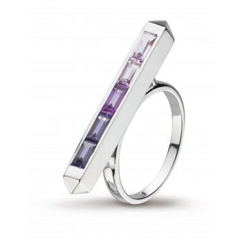 Kit Heath Manhattan Amethyst & Iolite Ring