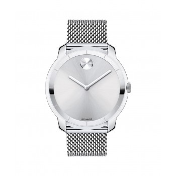 Movado BOLD Men's Stainless Mesh Watch
