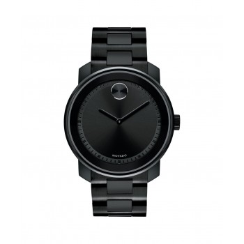 Movado BOLD Men's Black Ion-Plated Stainless Watch