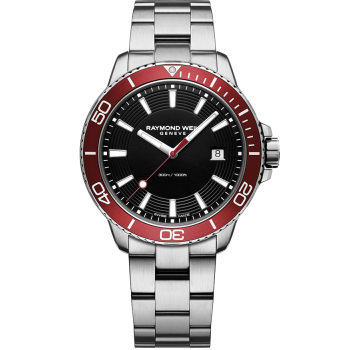Raymond Weil Men's Tango Red Diver Watch
