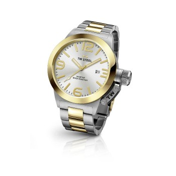 TW Steel Men's Two-Tone Watch