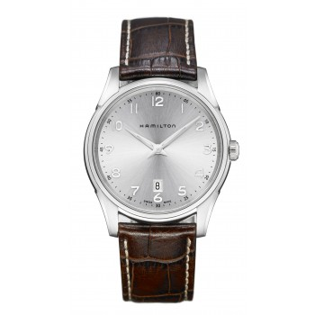 Hamilton Gents JMaster Thinline 42mm Quartz Brown Leather