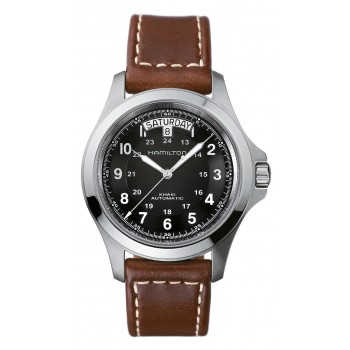 Hamilton Men's Stainless & Leather Watch