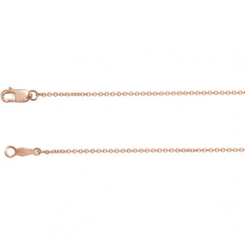 Ladies Rose Gold Chain / Rose Gold 14 Kt.