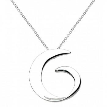 Kit Heath Swirl Necklace