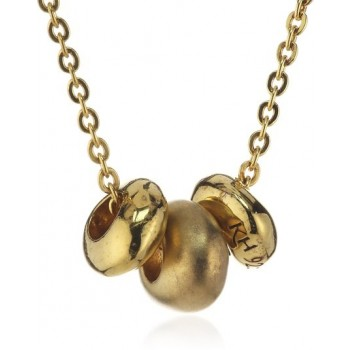 Kit Heath Gold Pebble Necklace