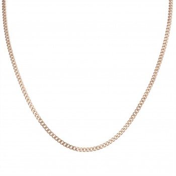 Inox Rose Plated Stainless Necklace