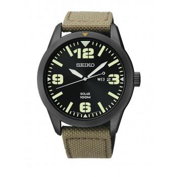 Seiko Men's SNE331 Nylon Watch