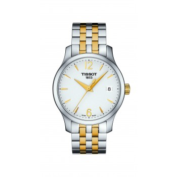 Tissot Tradition Lady Two-Tone Watch