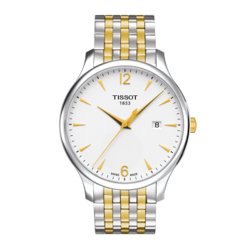 Tissot Men's Tradition Two-Tone Watch
